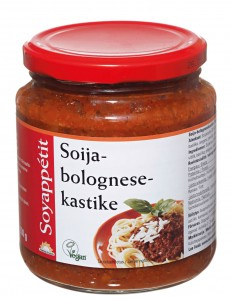 Soija-bolognesekastike