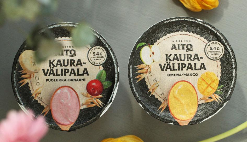 kasvigurtti, kasviproteiini, proteiini, jogurtti, kasvipohjainen, kaura, kaslink