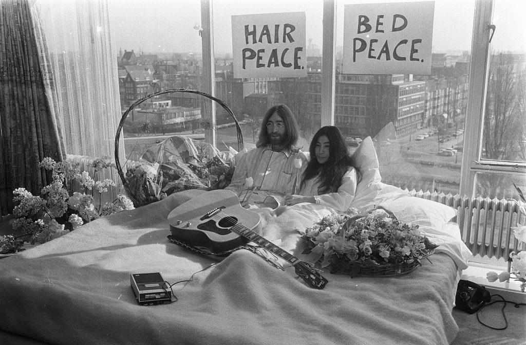 ilmastonmuutos, climate change, pleasure activism, ilmasto, aktivismi, nautinto, John & Yoko