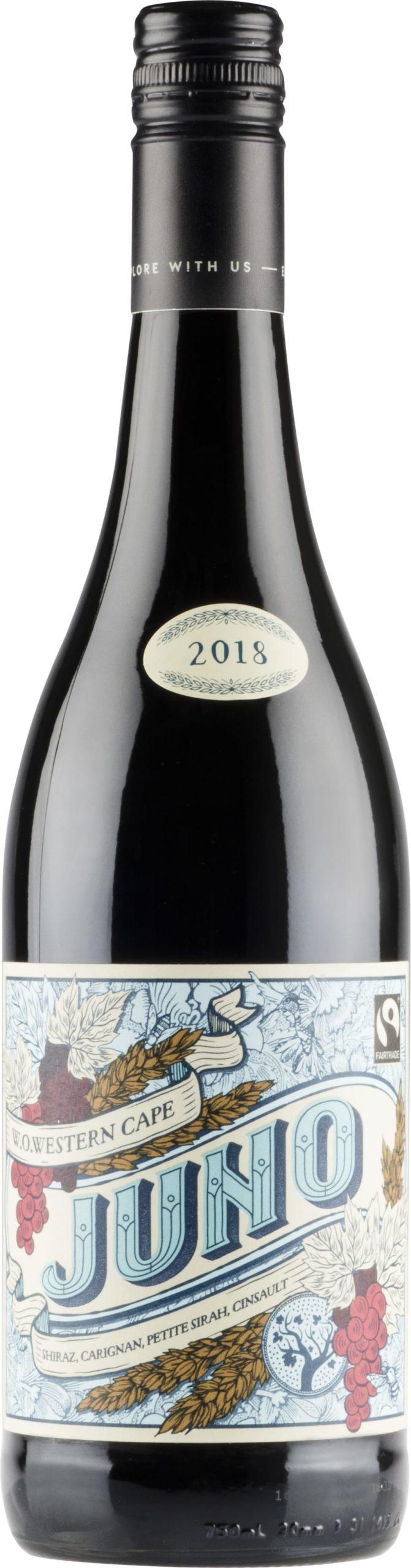 Reilun kaupan viini, Reilu kauppa, Juno viini, Reset the biz, Fairtrade wine, wine, punaviini, Alko,