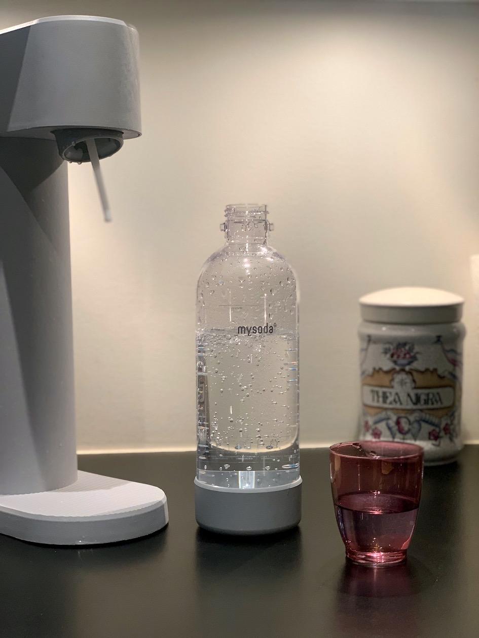 Mysoda, pullovesi, kuplavesi, hillihapotettu vesi, biokomposiitti, vesi, kuplavesikone